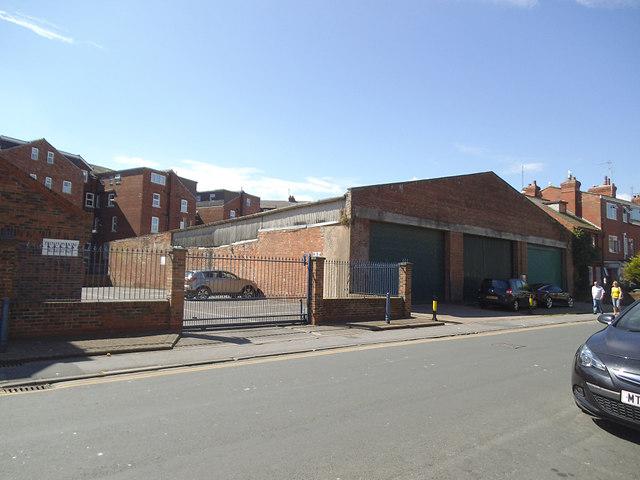 Road train depot, Horsforth Avenue, Bridlington