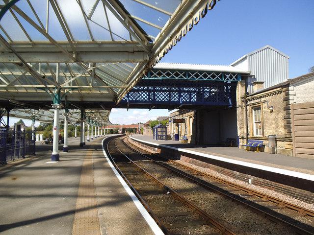 Bridlington station - through platforms