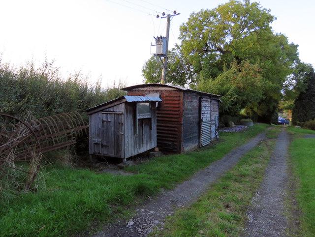 Former railway goods waggon
