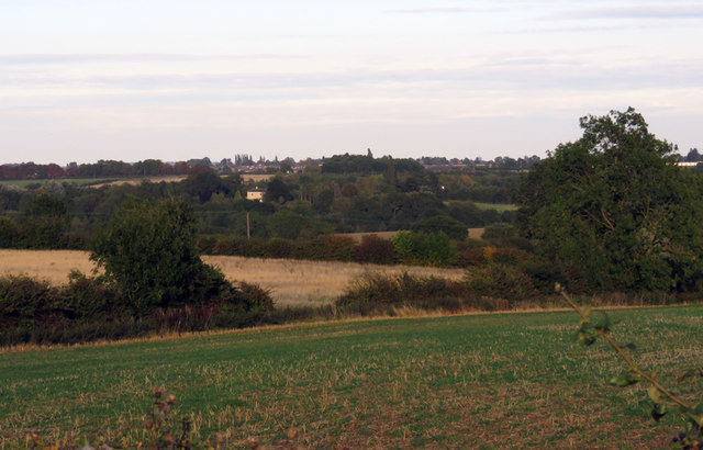 Fields towards Melton Mowbray