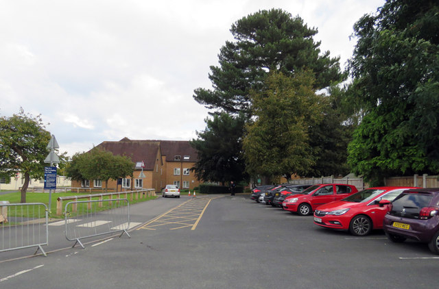 Car park at University of Worcester
