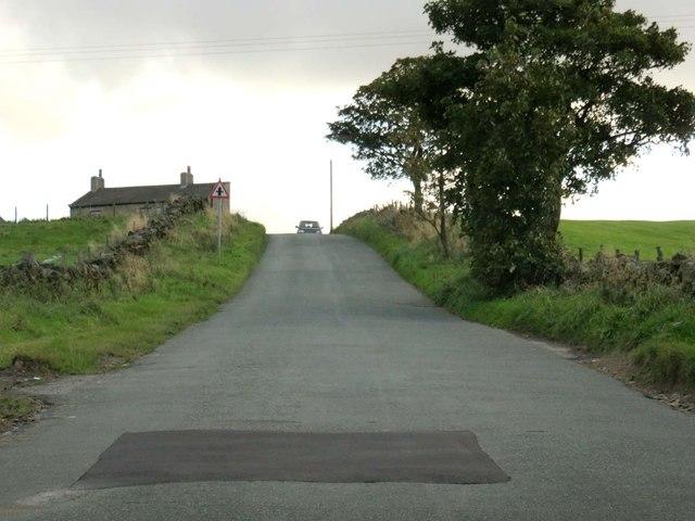 Shelfield Lane nearing Clarion House