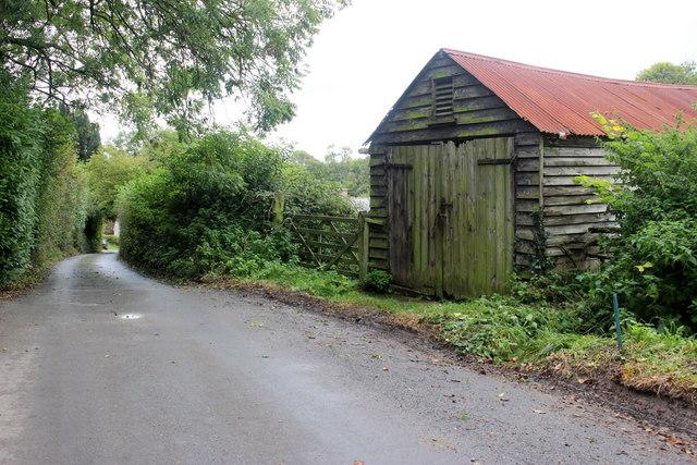 Old Garage in Combpyne