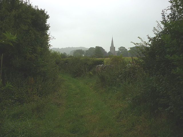 Footpath near Field Broughton