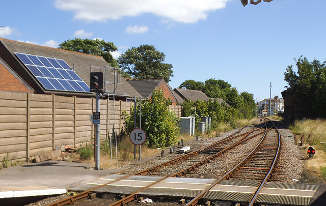Bridlington station - east end
