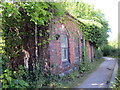 SJ3478 : Disused Railway Building on the Wirral Way by Jeff Buck