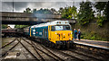 SD8010 : Loco 50015 (Valiant) arriving at Bury by Peter Moore