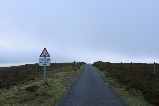 Moorland Road at Wind Gates