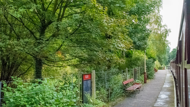 Summerseat Station on the East Lancs Railway