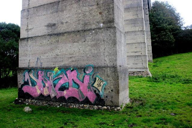 Street Art on Cannington Viaduct