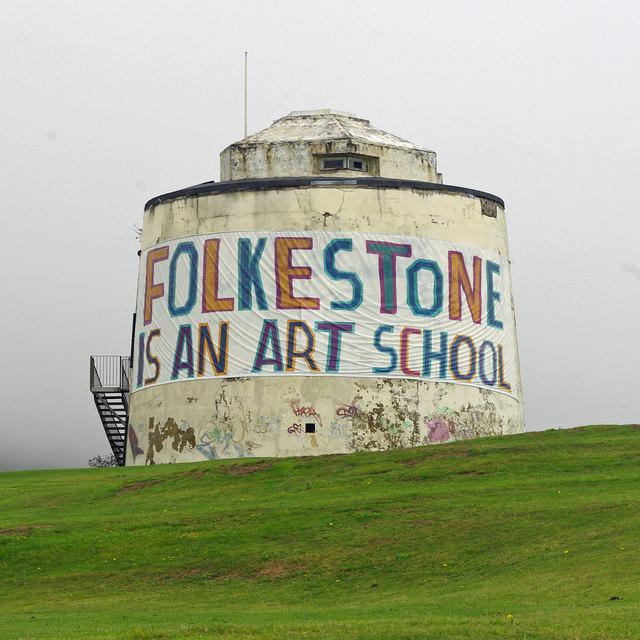 Folkestone is an Art School