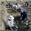 NH5548 : Archaeological dig of a mesolithic shell midden : Week 40