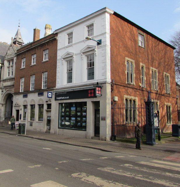 Knight Frank estate agents in Hereford city centre
