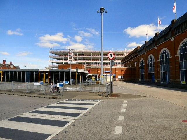 Ashton under Lyne bus station