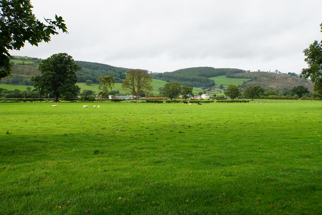 Flat bottom of the Dee Valley