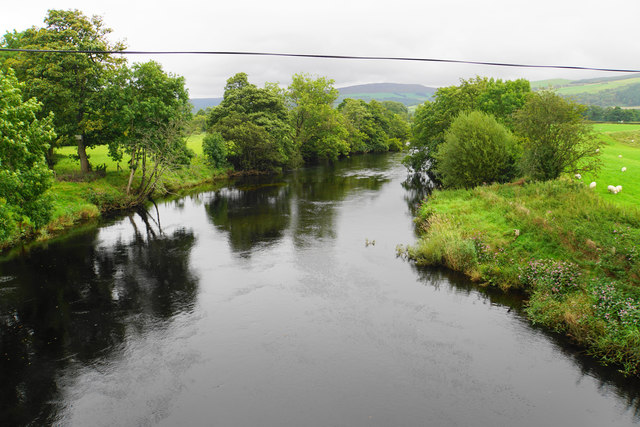 The River Dee near Llandrillo