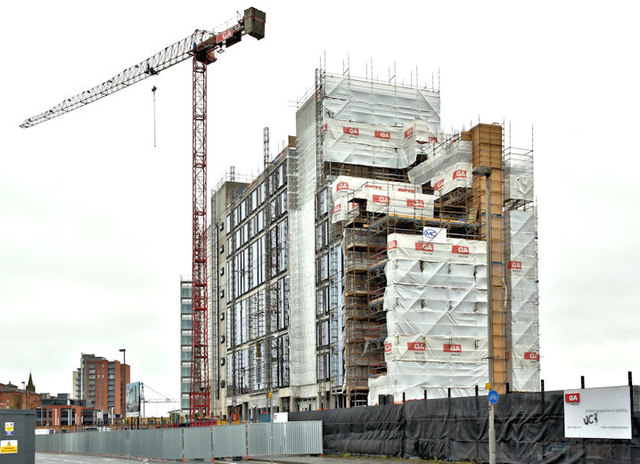 The City Quays hotel site, Belfast - October 2017(1)