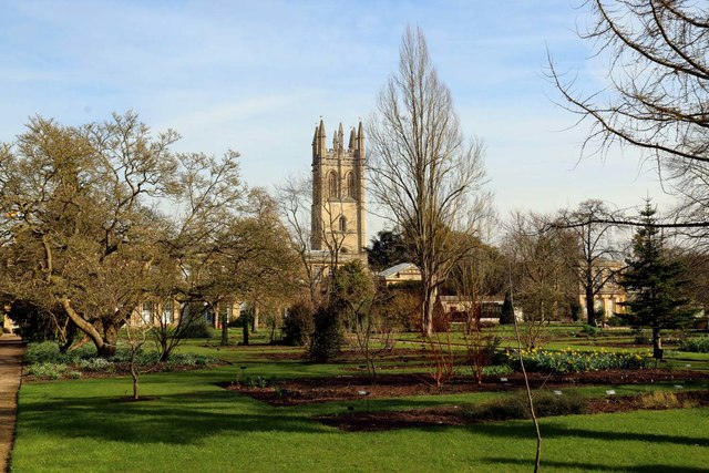 The Botanical Garden in Oxford