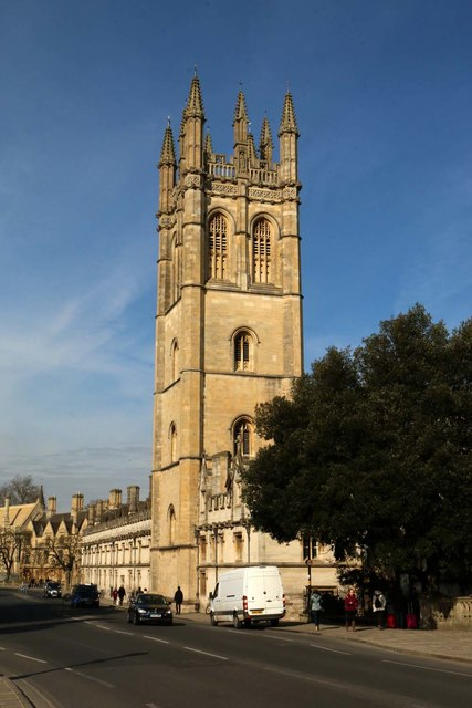 Magdalen College on High Street