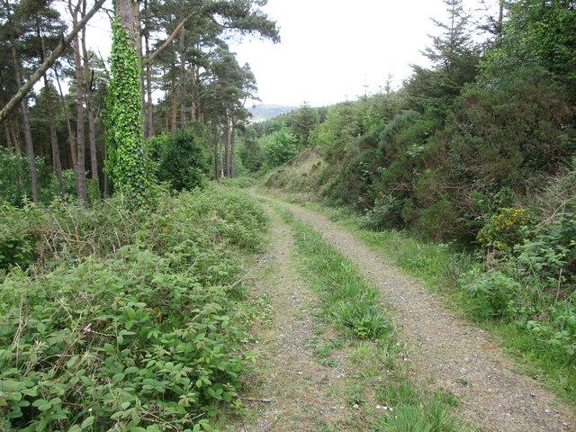 Descending towards Rockmarshall