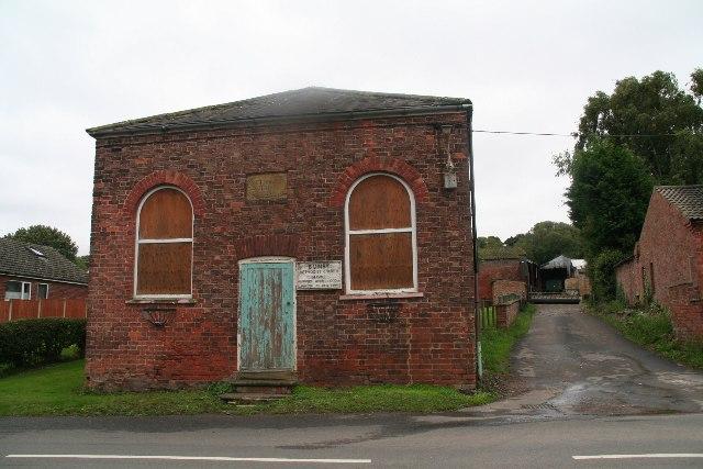 Disused Bonby Methodist Church