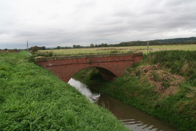 Bridge over Weir Dike, parallel to New River Ancholme, Bonby Carr Lane