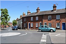 TL5338 : London Rd, Debden Rd junction by N Chadwick