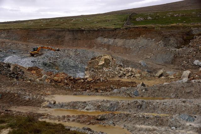Clibberswick quarry