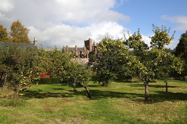 Priorwood Gardens, Melrose