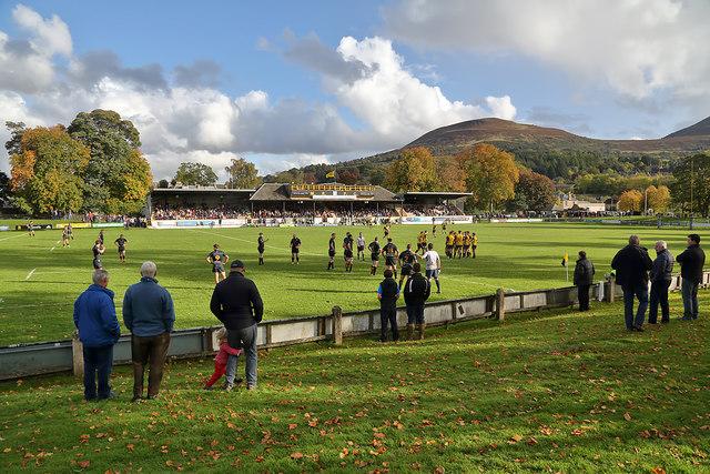 Melrose Rugby Football Ground at the Greenyards, Melrose