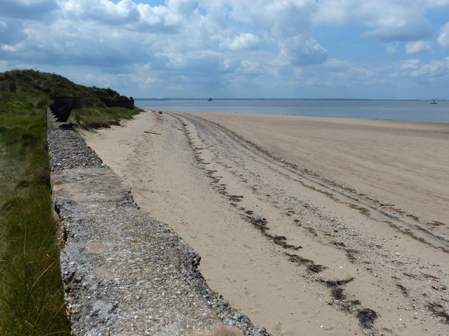 Beach near the Spurn Head Lifeboat Station
