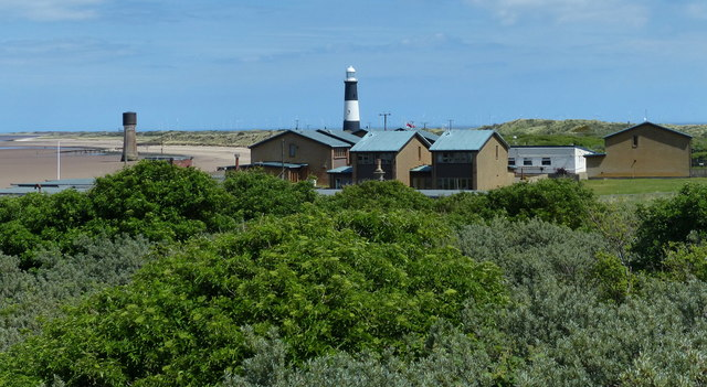 Lifeboat Station houses at Spurn Head