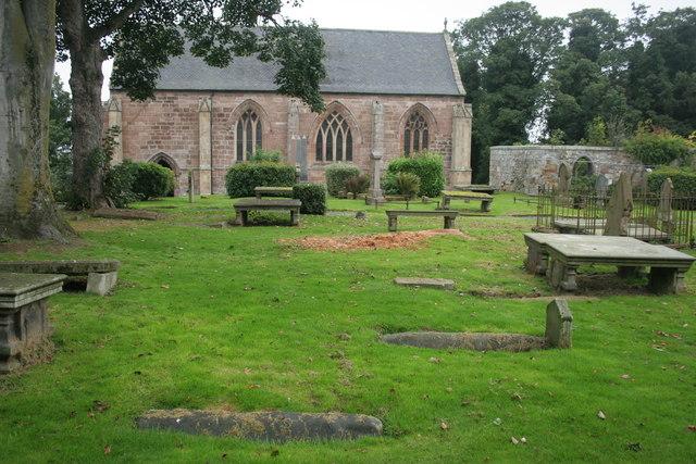 Viking graves, St Duthus Collegiate Church