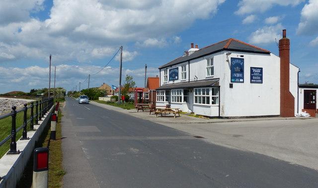 Crown & Anchor in Kilnsea