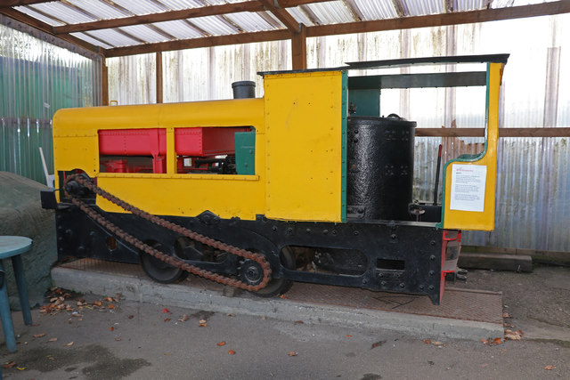 Leighton Buzzard Railway - unique locomotive
