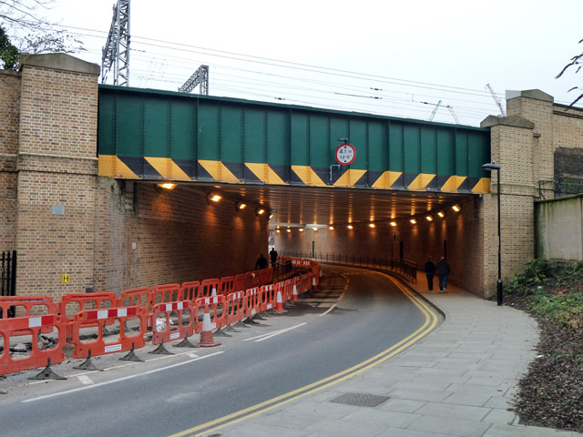 Railway bridge over Camley Street