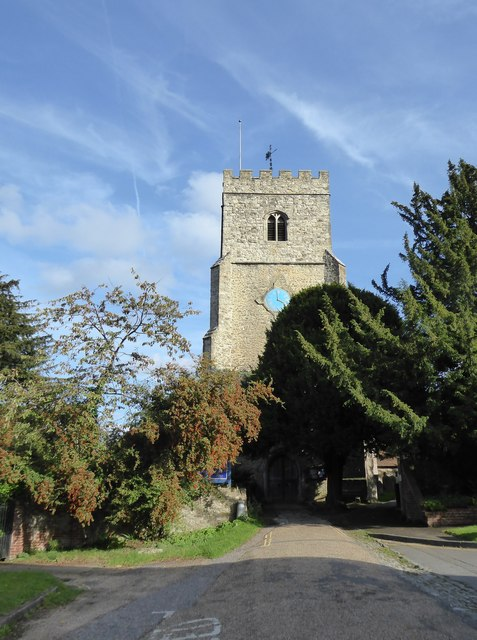 Church of St James the Great, East Malling: from the west