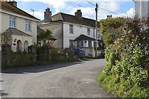 SX4563 : Sharp bend, Fore St by N Chadwick