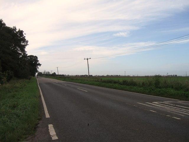 B1040 southbound