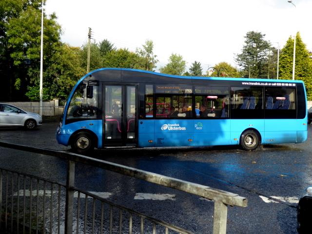 Hospital shuttle bus, Omagh © Kenneth Allen :: Geograph Ireland