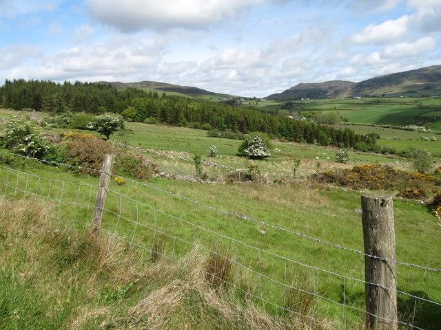 Marginal land on the north-eastern slopes of Slievenaglogh