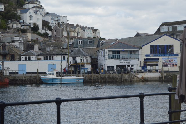 View across the Looe River