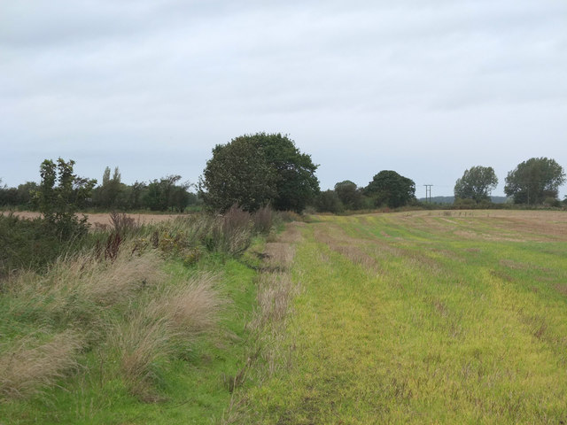 Footpath Northwest of Crab Tree Lane, Burscough