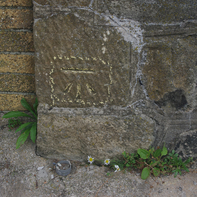 Bench mark, Folkestone Harbour