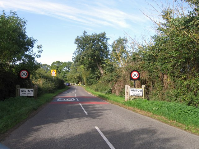 Entrance to Wistow