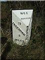 TF8723 : Milepost on Swaffham Road (A1065) by JThomas