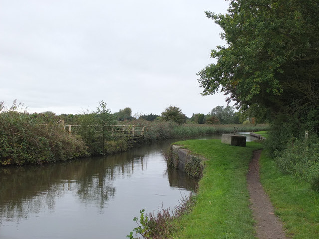 Disused swing bridge on the Leeds - liverpool Canal at Gorst Lane