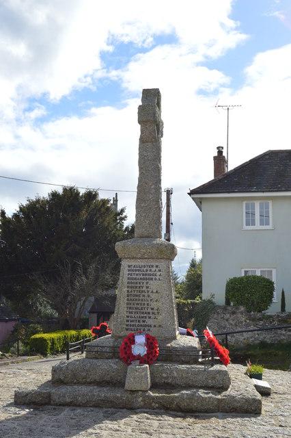 Bere Ferrers War Memorial