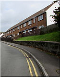 SS9993 : Row of houses above Bryn Ivor Street, Llwynypia by Jaggery