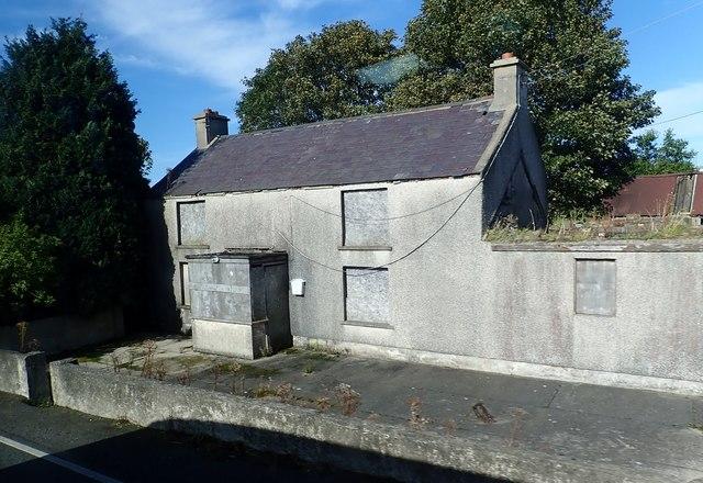 Derelict homestead on the Dublin Road, Kilcoo